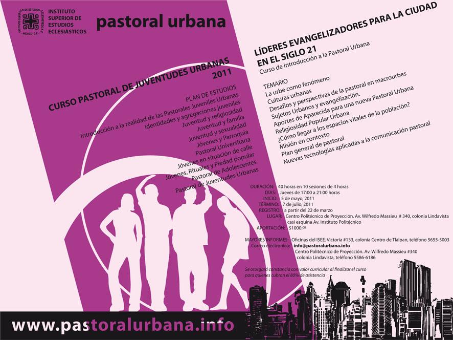 Curso Pastoral de Juventudes Urbanas