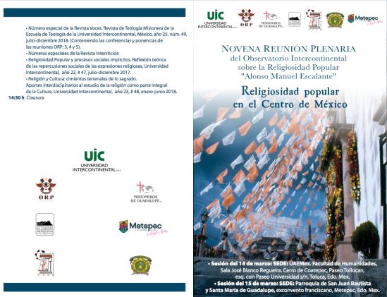 programa novena reuniónDEFINITIVO ENERO 2019